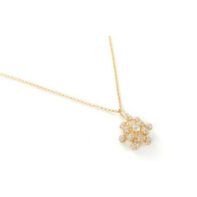 Queen Anne's Lace Diamond Necklace