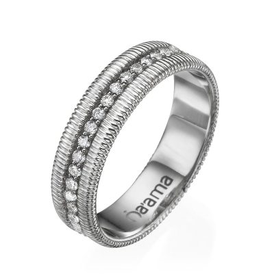 white gold eternity wedding ring