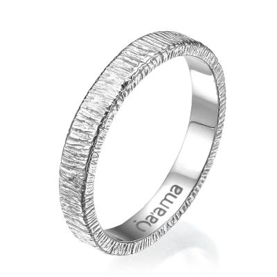 white gold lace wedding ring