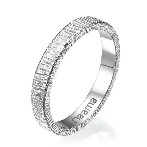 white gold lace wedding ring