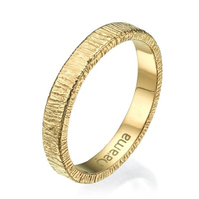 gold lace wedding band